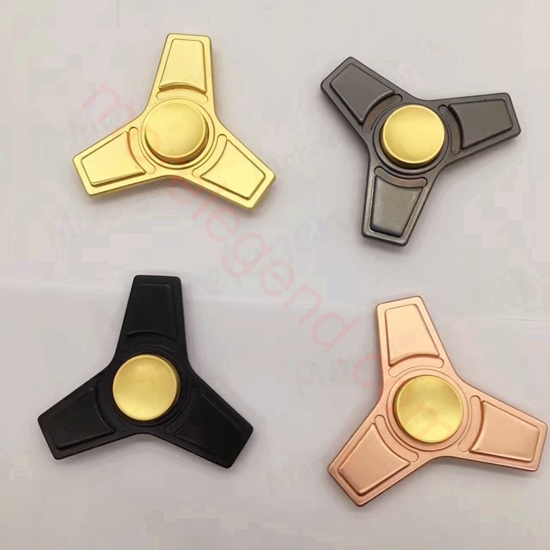 Picture of Tri hand spinner Zinc alloy figet toy