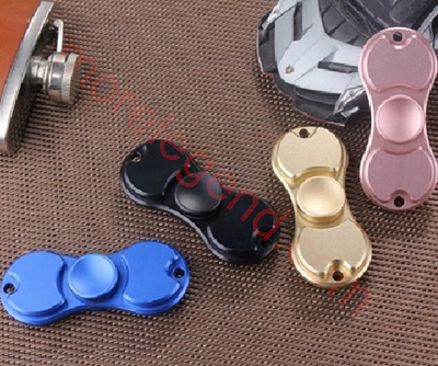 图片 Two sides aluminum alloy hand spinner fidget toy