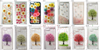 图片 Series Models Elegant Authentic Real Pressed Dry Flower PC/TPU Case