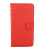 Picture of For iPhone Models Weave Pattern Flip PU Leather Wallet Case with Card Slots