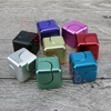 Picture of New Aluminum Alloy Magic Cube Hand Spinner Whirlwind Square Finger Gyro EDC Decompression Toys