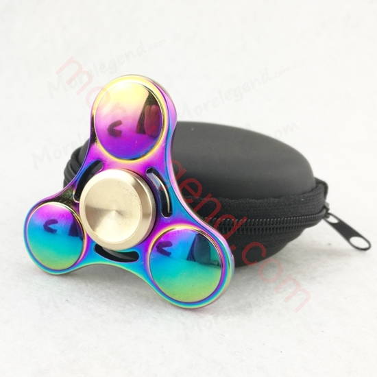 Picture of 2017 New Fidget toy EDC Hand Spinner UFO Tri-spinner Zinc Fidget Spinner For ADHD Adults Children Anxiety Stress Fidget Spinner