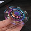 图片 Colorful Rainbow Sailor Rudder Fingertip Gyro Fidget Hand Spinners  Toy