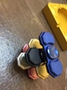 Picture of Newest two-side led light interesting hand spinner funny toys