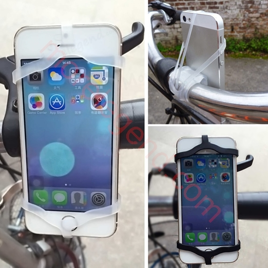 Picture of Universal Mobile Cell Phone Bike Bicycle Motorcycle Handlebar Mount Cradle Holder Support for All mobile phone