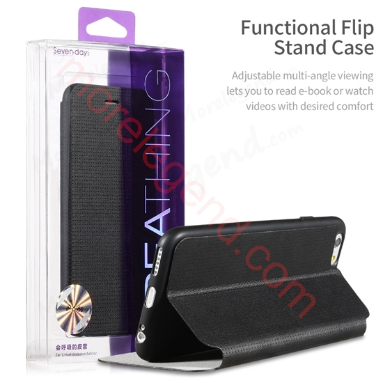 Picture of X-LEVEL SEVENDAY BREATHING SERIES FLIP LEATHER CASE