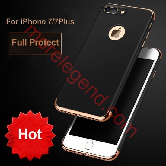 图片 3 in 1 Electroplated Plating PC Shockproof Case
