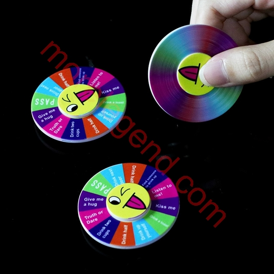 Picture of Truth or Dare Fidget Spinner For mobile phone Party Hand Spinner Stress Reliever Toys