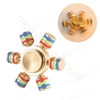 图片 Rainbow Fidget Spinner Metal Finger Spinner Hand Spinner Brass For Autism Adult Anti Relieve Stress Toy