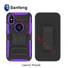 Picture of 3in 1 PC+TPU phone case  sliding sleeve for iPhone 8 logo custom accepted
