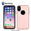 Picture of Hot selling all-round protective mobile phone cover high quality pc phone case with glass screen protector for Iphone8