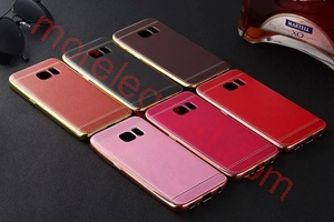 Picture of Factory low price Lichee Pattern PU Leather Cover Case Soft Shockproof phone case