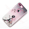 Picture of embossed logo phone case Luxury 3D Relief Embossing Summer New Cartoon Pattern