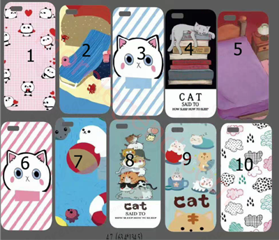 Picture of 3D kneading cat animal pattern soft squishy Custom 3D Silicone Nail Finger Pinch Phone Case