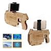 Picture of Wooden Material Toy Electronic AR Toy Pistol Portable Bluetooth AR Gun for Android iOS iPhone