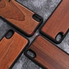 Picture of Shock Proof Wooden Back Cover Case forIphone 8