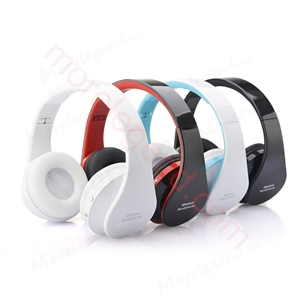 Picture of Hot Selling Wireless Bluetooth Stereo Headphone With Memory Card