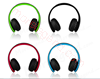 Picture of Stereo Folding Bluetooth Headsets High Quality Foldable Stereo Wireless Bluetooth Headphones