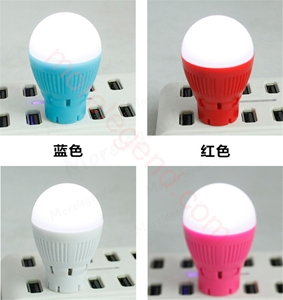 Picture of Mini Portable LED Wireless Bluetooth Lamp Speaker