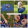 图片 Multifunction Lightweight Camping Beach mat Waterproof Beach Picnic Barbecue Blanket & Storage bag